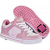 Heelys Motion Pink/White Heely Shoe