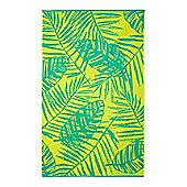 Linea Palm Leaves Beach Towel