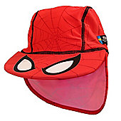 Ultimate Spiderman UV Sun Hat 4 to 8 Years