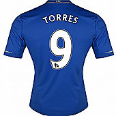 2012-13 Chelsea Home Shirt (Torres 9) - Blue