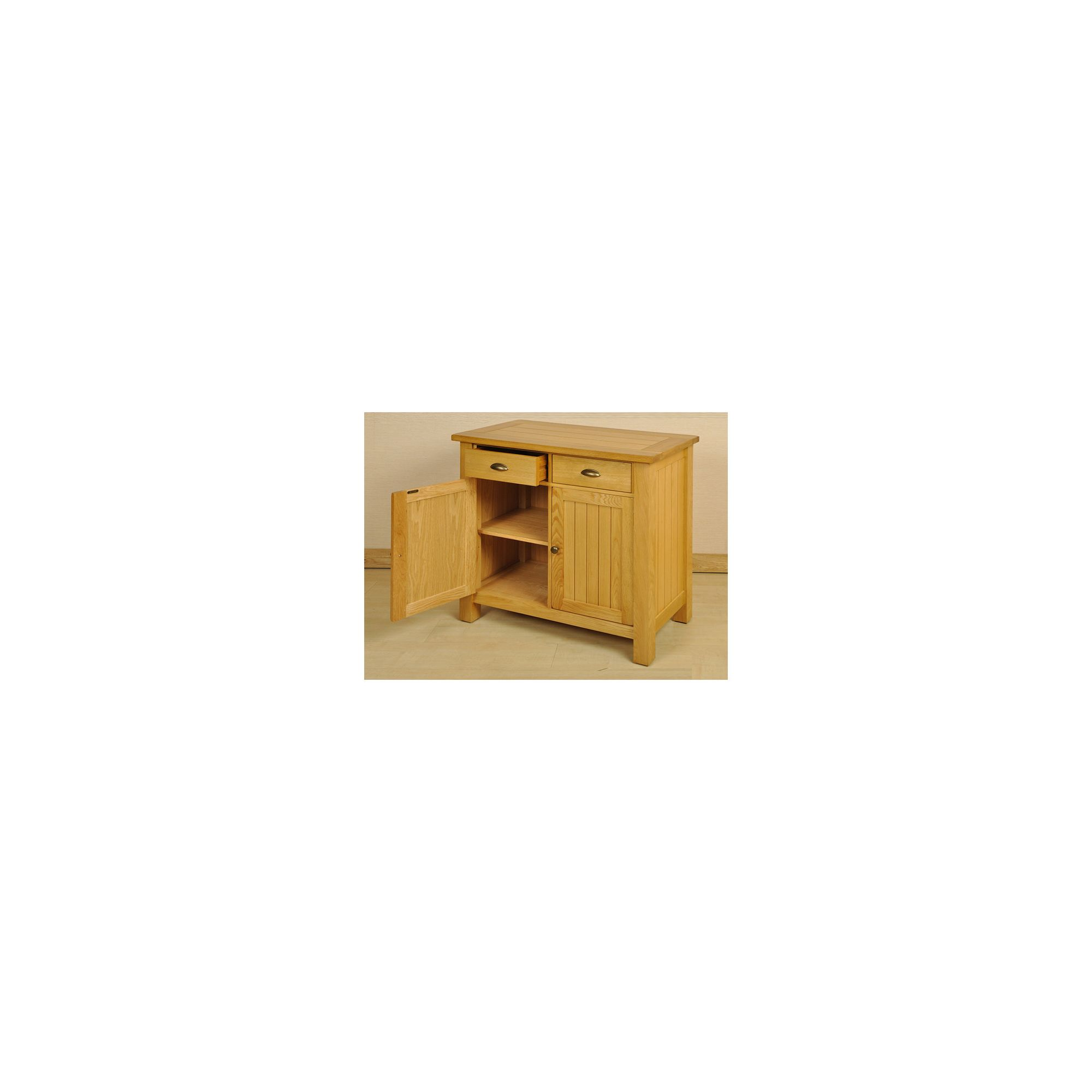 Origin Red Balmoral Oak 2 Door Sideboard at Tesco Direct