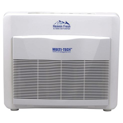 NaturoPure Multi Tech (Ionizer, Sanitizer, UV, HEPA, Active-Carbon) Air Purifier HF300C