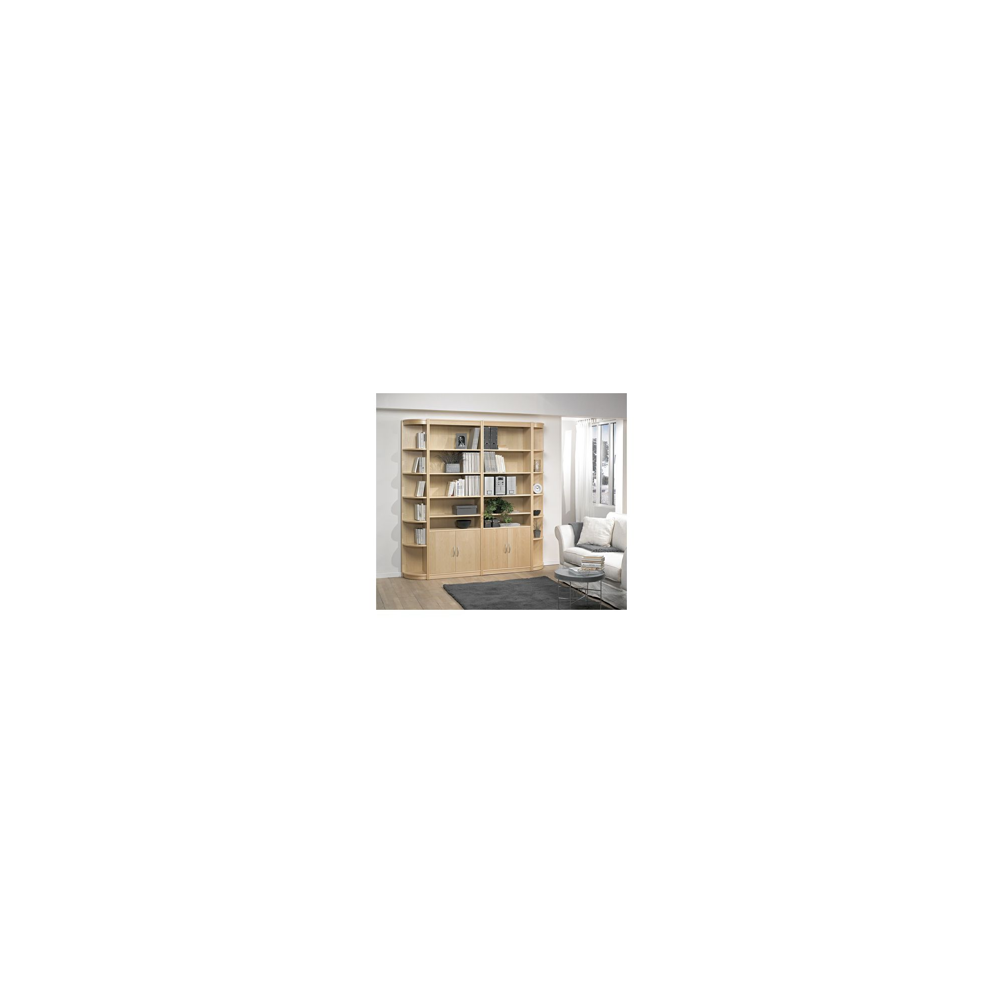 Tvilum Classic Soft Combination 21 Bookcase - Cherry at Tesco Direct