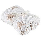 Tesco Chenille Blanket, Cream
