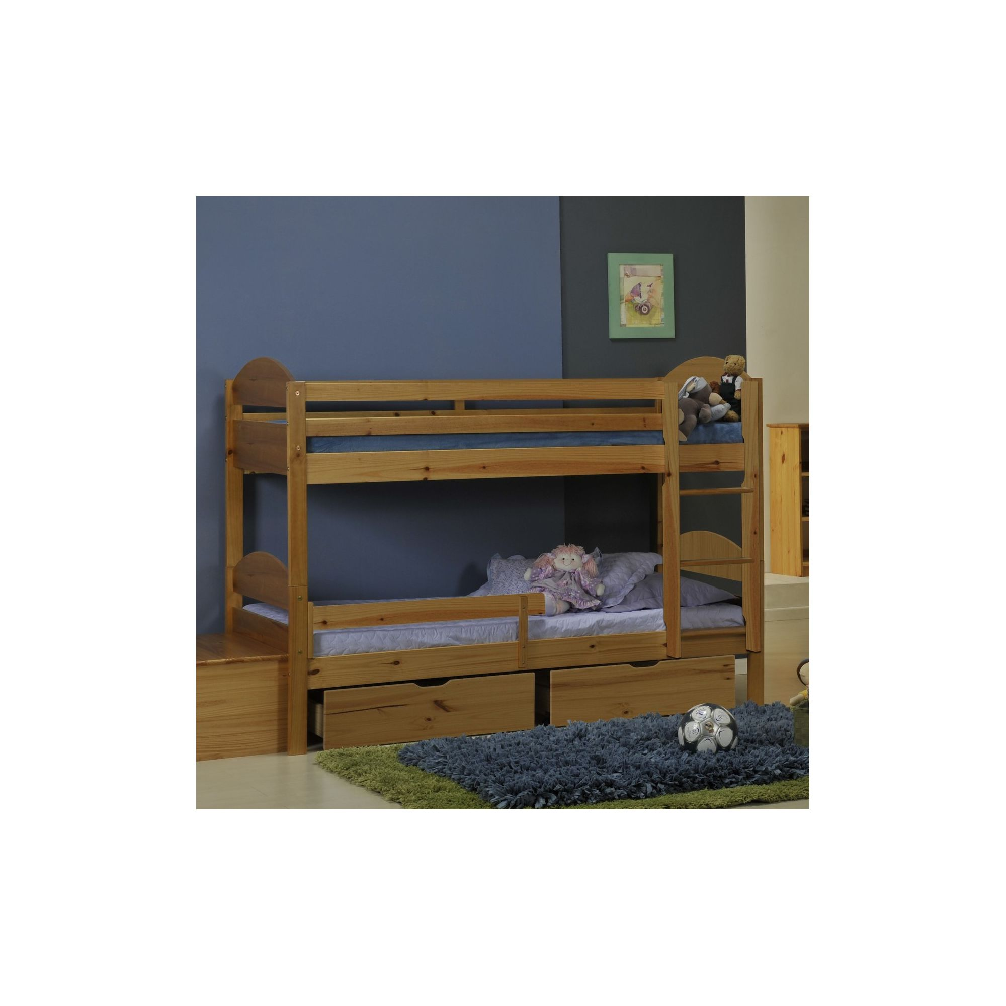 Verona Maximus Bunk Bed - Antique at Tesco Direct
