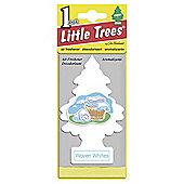 Little Tree Woven Whites