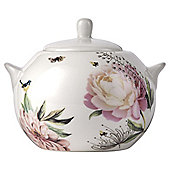 Wild Garden Fine China Sugar Bowl