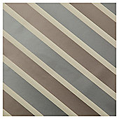 Tesco Block Stripe Wrapping Paper, Gold & Silver