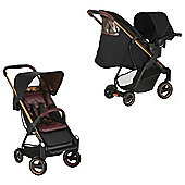 ICOO Acrobat Shop & Drive Travel System, Copper & Black