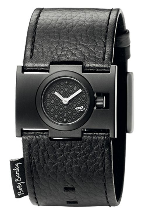 Betty Barclay Sweet Memory Ladies Black Steel Watch - BB229.50.310.121