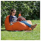 Large Polyester Outdoor Seat Cushion, Orange