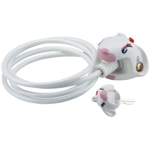 Crazy Stuff Cable Lock: White Bunny.