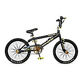 "11"" Rooster Attitude, 20"" Wheel, Black/Gold"