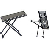 Rocket Guitar Foot Stool in Black