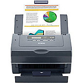 Epson GT-S55N (A4) Colour Document Scanner 2-Line LCD 25ppm (Network Ready)