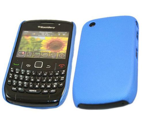 iTALKonline Mesh Hard Case - BlackBerry 8520 Curve, 9300 3G - Blue