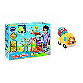 Vtech Toot Toot Bundle - Parking Tower And Cement Mixer - 2 Items Supplied