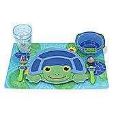 Scootin' Turtle Mealtime Set 16578 - Melissa & Doug