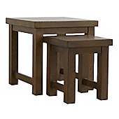 Mark Harris Dark Oak Nest of Tables
