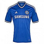 2013-14 Chelsea Adidas Home Football Shirt - Blue
