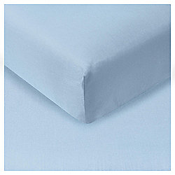 Kingsize Fitted Sheet - Breeze Blue