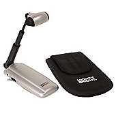 Mighty Bright Silver Triple LED Music Light with Bag