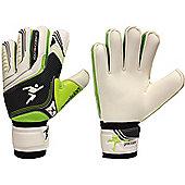 Precision Gk Schmeichology 5 Finger Protection Goalkeeper Gloves Size - White