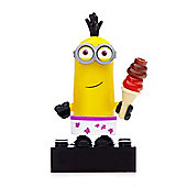 Mega Bloks Despicable Me Minions Series 1 Figure - Tim (Swim shorts & Ice Cream)