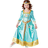 "Brave Merida ""Ornamental"" Deluxe - Child Costume 7-8 years"
