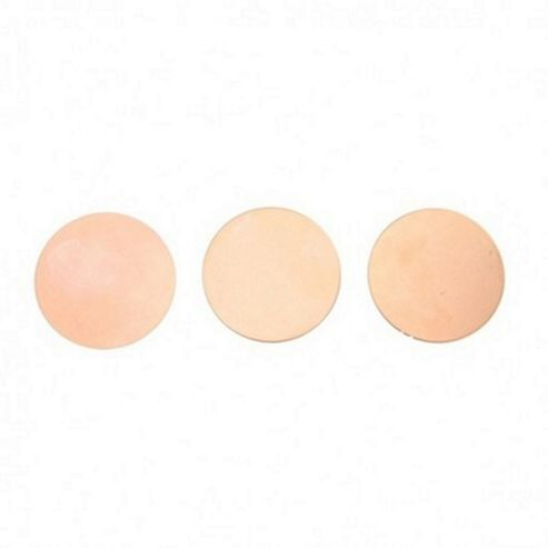 Copper Blank Round 38mm No Hole 3pcs