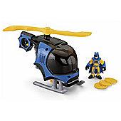 Imaginext DC Super Friends Vehicle Batman Batcopter Helicopter
