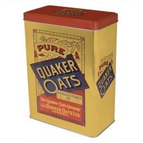 Quaker Oats - Cereal Tin