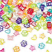 Pearlised Pony Beads (Pack of 250)
