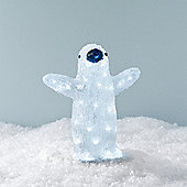 Light Up Baby Penguin LED Christmas Figure