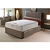 Vogue Beds Vogue Memory Pocket New Empress Platform Divan Bed - Small Double / Without Drawer