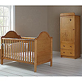 Obaby B is for Bear Single Wardrobe, Cot Bed Room Set