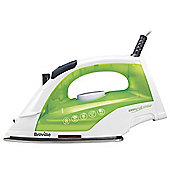 Breville VIN370 Easy Glide Steam Iron, 2200W - White & Green