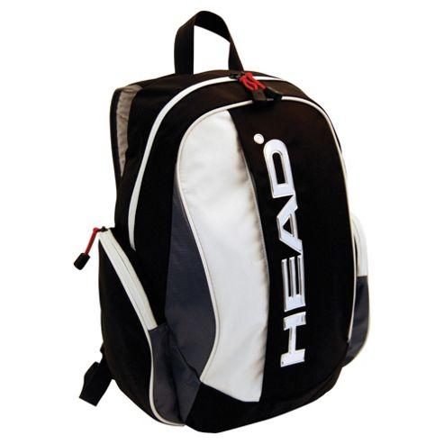 Head Viking Backpack, Black/Grey/Red