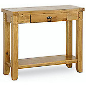 Kelburn Furniture Veneto Rustic Oak Side Table