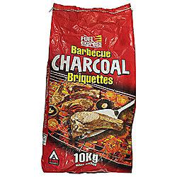 Fuel Express Charcoal BBQ Briquettes, 10kg