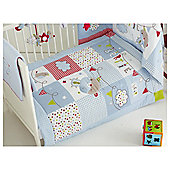 Red Kite Cosi Cot Bertie Bear 5 piece bedding set