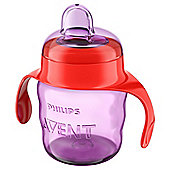 Philips Avent 7oz Easy Spit Spout Cup in Pink SCF551/13