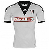2013-14 Fulham Adidas Home Football Shirt - White