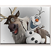 Disney Frozen Olaf and Sven Large Canvas Art