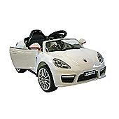 Kids Electric Car Luxury SUV 6 Volt White