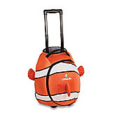 LittleLife Wheelie Kids' Duffle Bag, Clownfish