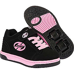 Heelys Dual Up Black/Pink Kids Heely X2 Shoe