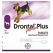 Drontal Dog - 2 Tablets