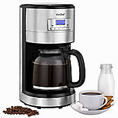 VonShef 1000W Programmable Digital Filter Coffee Maker