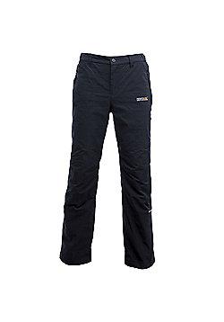 Regatta Mens Dayhike Waterproof Walking Trousers - Black